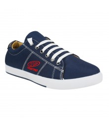 Vostro Tetra Navy Blue Men Casual Shoes - VCS1043-40
